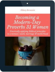Tablet with Becoming a Modern-Day Proverbs 31 Woman eBook