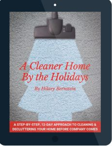 A Cleaner Home By the Holidays tablet